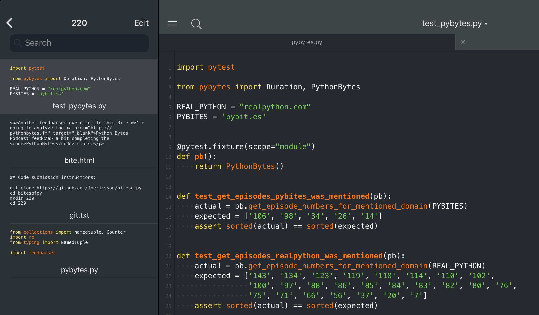 Pythonisa code image